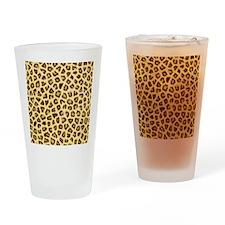 Jaguar Prints Drinking Glass