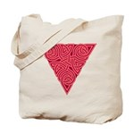 Pink Triangle Knot Tote Bag