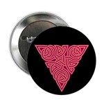 "Pink Triangle Knot 2.25"" Button (100 pack)"