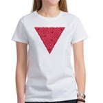 Pink Triangle Knot Women's T-Shirt