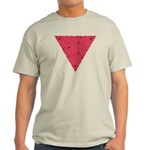 Pink Triangle Knot Light T-Shirt
