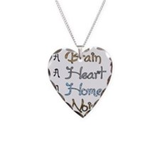 Wizard of Oz Necklace Heart Charm