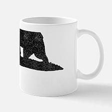 California Republic Grunge Bear Mug