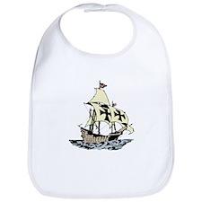Pirate Ship Bib