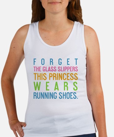 card Forget the glass slippers Women's Tank Top