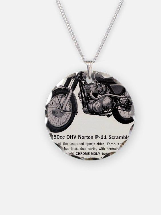 1967 Norton Dynamite Motorcy Necklace
