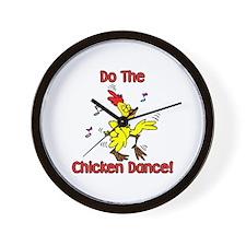 Do the Chicken Dance! Wall Clock