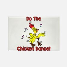 Do the Chicken Dance! Rectangle Magnet (10 pack)