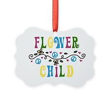 Flower Child Ornament
