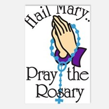 Pray The Rosary Postcards (Package of 8)