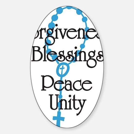 Forgiveness Sticker (Oval)
