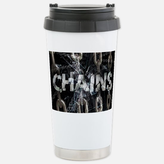Chains Stainless Steel Travel Mug