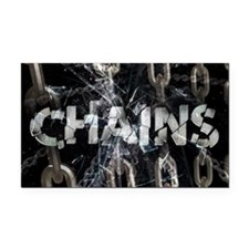 Chains Rectangle Car Magnet
