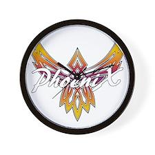 Phoenix Logo Wall Clock