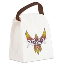 Phoenix Logo Canvas Lunch Bag