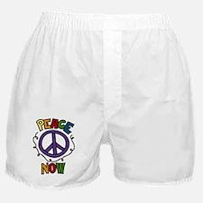 Peace Now Boxer Shorts