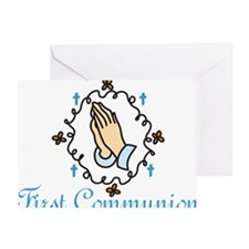 First Communion Greeting Card