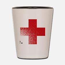 Get your flu shot Shot Glass