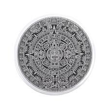 "Mayan Calendar 3.5"" Button"