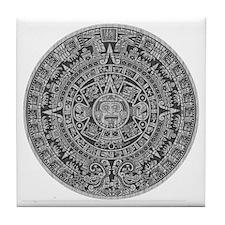 Mayan Calendar Tile Coaster