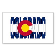 Colorado Rectangle Decal