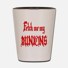 Fetch Me My Minions Red Shot Glass