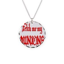 Fetch Me My Minions Red Necklace