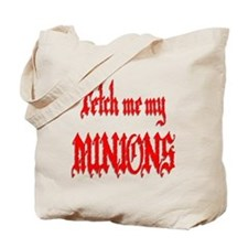 Fetch Me My Minions Red Tote Bag