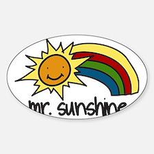 Mr. Sunshine Decal