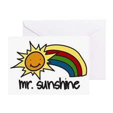Mr. Sunshine Greeting Card