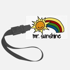 Mr. Sunshine Luggage Tag