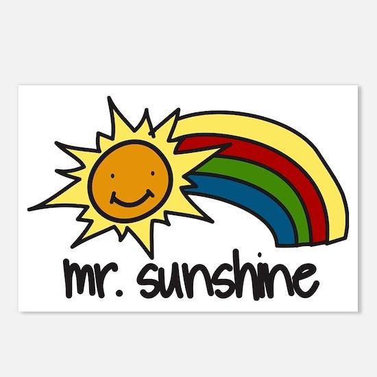 Mr. Sunshine Postcards (Package of 8)