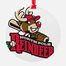 Reindeer Primary Logo Ornament