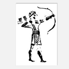 Hebrew Archer Seal from t Postcards (Package of 8)