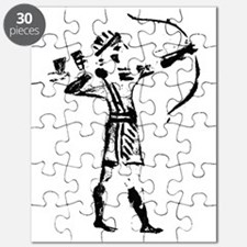 Hebrew Archer Seal from the First Temple Pe Puzzle