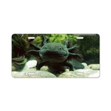 Axolotl Aluminum License Plate