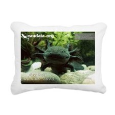 Axolotl Rectangular Canvas Pillow