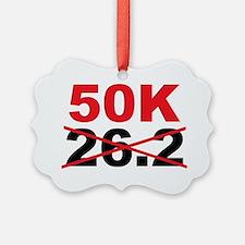 Beyond the Marathon - 50 Kilomete Ornament
