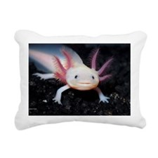 Axolotl Rectangular Canvas Pillow