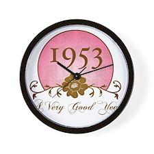 1953 Sunrise Wall Clock