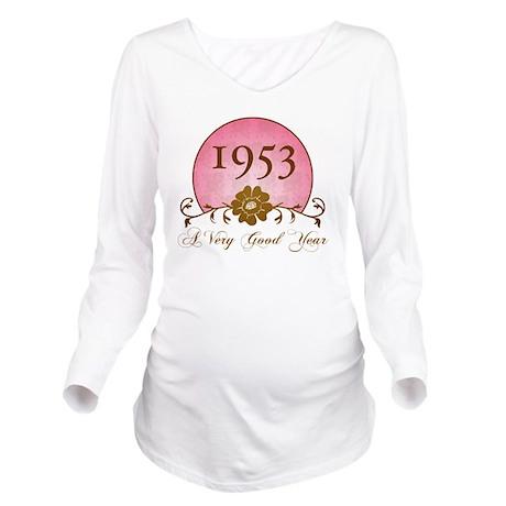 1953 Sunrise Long Sleeve Maternity T-Shirt