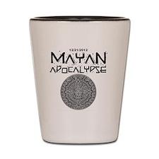 Mayan Apocalypse Calendar Shot Glass