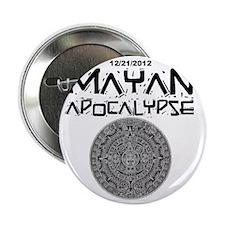 """Mayan Apocalypse Calendar 2.25"""" Button"""