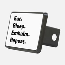 eat sleep embalm Hitch Cover