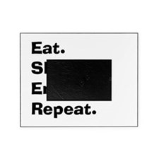 eat sleep embalm Picture Frame