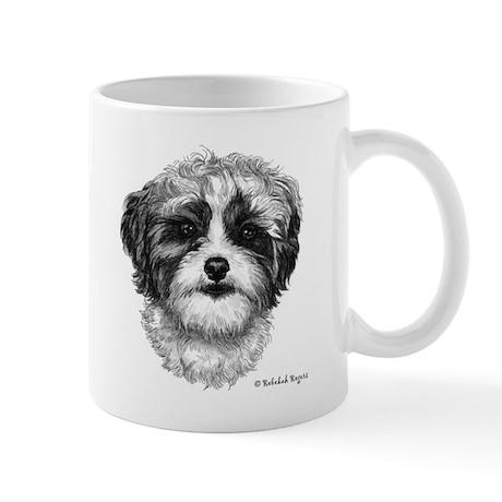 Happiness is a Shih-Poo Mug
