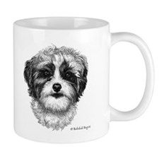 Happiness is a Shih-Poo Mug