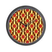 Sunburst #3 Wall Clock