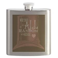 Were All Random Heres logo Flask