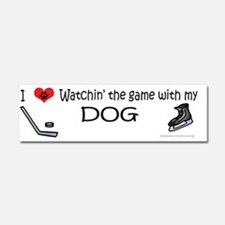 hockey Car Magnet 10 x 3